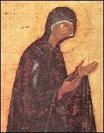 St Luc peignant la Vierge Theoph_v_orante