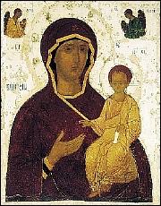 St Luc peignant la Vierge V_hodig_dionis
