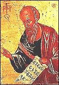 Sur la récolte nouvelle, quelqu'un offrit à Élisée, l'homme de Dieu, vingt pains d'orge et du grain frais dans un sac.